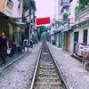 ベトナム鉄道の線路