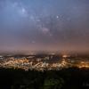 【天体撮影記 第101夜】 長崎県 弓張岳展望台から夜景と天の川のリベンジ