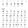 簡単!ベンガル文字の発音、書き順