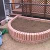 我が庭へ花壇の作成