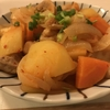 寒い日に食べたいピリ辛料理 じゃが鶏キムチ