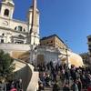 スペイン階段とスペイン広場