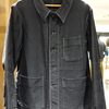 1940s Black Moleskin Jacket