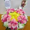 シンデレラガールズ7th大阪・島村卯月&大橋彩香さん宛てに楽屋花を贈りました