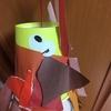 【2歳4歳育児】11月の壁面製作②みのむし【季節を感じる家庭学習】