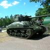 ムンスター戦車博物館に展示されていた連合軍の戦車