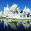 タイの純白の寺院「ワットロンクン」チェンマイからの行き方。見所や注意点など