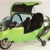 卵型のEVバイク!!もはや、車とほぼ変わらないじゃん♪