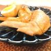 ホットクックレシピ 包丁を使わない手羽先と茹で卵煮