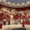 赤い洞窟にいるみたい  横浜美術館