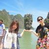 笑顔がいっぱいな女子旅プーケット『ジェームスボンド島+カヌーを満喫』