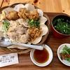 上大岡西の「米どころ」でカオマンガイ唐揚げセット