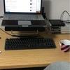 机の高さ60cm、椅子の高さ38cmの理想の作業環境を手に入れたよ