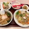 笹下の「鳳華飯店 笹下本店」で中華丼セット