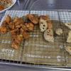 幸運な病のレシピ( 1579 )朝:鶏・レンコン唐揚、レンコンのきんぴら、カボチャ、鮭、塩サバ、手羽、ウインナ
