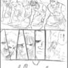 運動会行って来ました。  漫画100メートル走①  描いてみました。