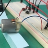 DCモーターの電圧、電流の測定