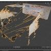 AzureKinectから取得したカラー画像とデプス画像を使ってBlenderで立体を再構築する その3(画角の修正)