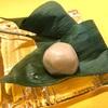 南青山『HIGASHIYA man』の夏菓子。麩饅頭、青竹水羊羹、焼本蕨、山椒餅。