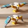 レゴ:鳥の作り方  クラシック10698だけで作ったよ