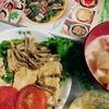 作ってみた 10/26 豆腐/トマト/舞茸のステーキとゴーヤのオープンオムレツ