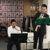 (もしかしたら)日本初の、ソプラノサックス&メロディオンによる訪問演奏