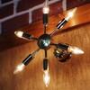 ミッドセンチュリースプートニクランプ6灯ブラケットライト/USA50's60'sアメリカヴィンテージ壁掛け照明【WOL-19-0004】