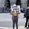 「自由か、死か!」独立時の言葉を、彼らは掲げた…NY外出規制に反対し(TBS宮本晴代氏ルポ)