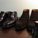 【靴磨き】レザーソール、コバのお手入れ方法