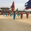 韓国旅行7  交代式と青瓦台