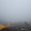 木曽駒ヶ岳 テント泊 雨降りの二日目