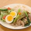 豚肉と卵の甘辛煮