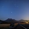 【天体撮影記 第123夜】 大分県 長者原 タデ原湿原から冬の大三角形
