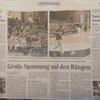 ドイツのローカル新聞にのりました!
