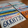 All 50 USA States Licence Plates Set