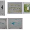 「8cm×12cmの小さなアート」作品追加(#328-#332)