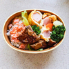 魚肉ソーセージの卵巻きのお弁当