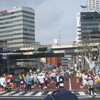 東京マラソンと津波警報