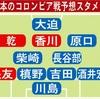 さあ、始まるよ!日本対コロンビア 予想スタメン!