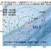 2017年07月26日 00時26分 北海道東方沖でM3.2の地震