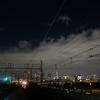 新木場駅ホームからの夜景