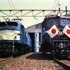 再び米原機関区撮影会の様子 昭和60年の鉄道写真
