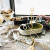 【カルトナージュレッスン】 オリジナルレッスンクラス ~持ち手の付いたオーバル型カトラリートレー~