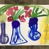 球根咲いたよ。幼稚園クラス