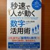 【書評】世界のトップコンサルが使う 秒速で人が動く数字活用術  小早川鳳明 PHP