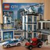 【レゴ】ポリスステーション(60141)を4歳の子が組み立てた様子