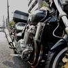 X4 typeLD 土砂降りの車検上がり引取り/オートバイ 〜ゴロゴロと、雷様に注意され〜