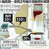 2号機格納容器内に最大放射線量…30秒で死亡