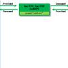 異なる VRF に所属する Application EPG 間で通信する(同一 Tenant 内)