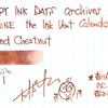 #0932 DIAMINE the Ink Vent Calender Rosted Chestnut